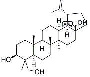 23-hydroxybetulinic acid Chemical Structure