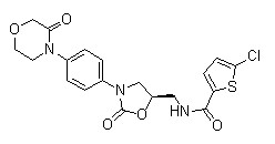 5-R-Rivaroxaban Chemical Structure