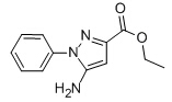 Ethyl 5-amino-1-phenyl-1H-pyrazole-3-carboxylate Chemical Structure