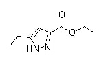5-Ethyl-1H-pyrazole-3-carboxylic acid ethyl ester Chemical Structure