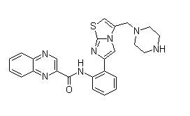 SRT 1720 Chemical Structure