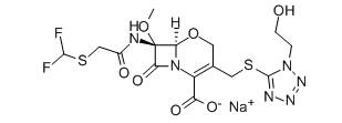 Flomoxef sodium Chemical Structure