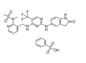 PF-562271 benzenesulfonate Chemical Structure