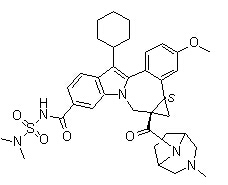 Beclabuvir Chemical Structure