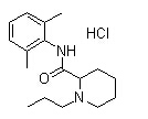 Ropivacaine hydrochloride Chemical Structure
