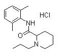 Ropivacaine hydrochloride 结构式
